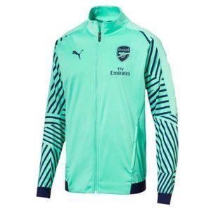 NEW! Men's Puma 18-19 Arsenal Stadium Jacket-Green